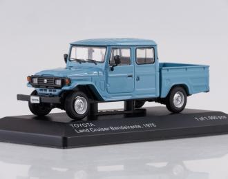 TOYOTA Land Cruiser Bandeirante Pick Up (1976), blue