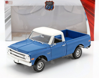 CHEVROLET C-10 with Lift Kit пикап 1970 Dark Blue Poly