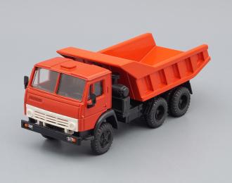 Камский грузовик 5511, красный