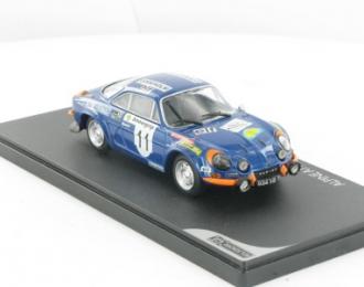ALPINE 110 1600S-Rallye de Suède de 1973, голубой