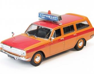 Горький 24-02  Аэрофлот, Автомобиль на службе 21, оранжевый