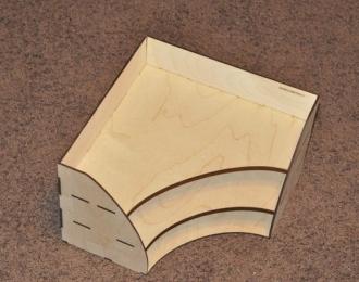 Модуль угловой верхний