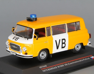 """BARKAS B1000 """"VB"""" (1975), orange / white"""