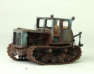 Т-74 брошенный трактор
