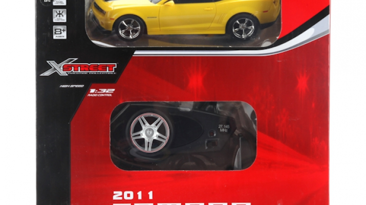CHEVROLET Camaro на радиоуправлении, yellow
