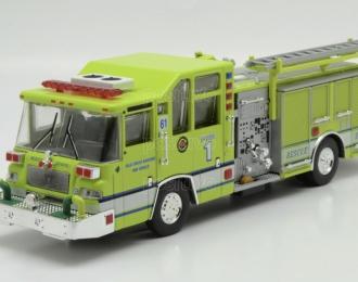 Pierce Quantum Pumper - 1997 USA, Kolekcia Strażackie Giganty 8