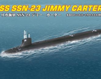 Сборная модель Подводная лодка USS SSN-23 JIMMY CARTER ATTACK SUBMARINE