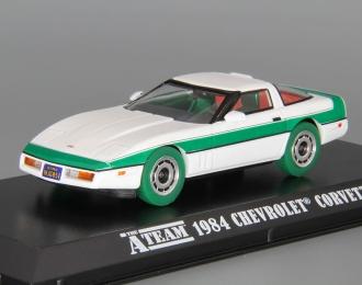 "CHEVROLET Corvette C4 1984 (из т/с 'Команда А"") (Зеленые колеса!)"