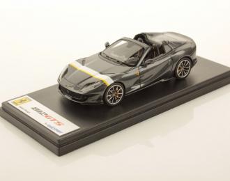 Ferrari 812 GTS (Grigio Silverstone with White/Yellow Livery)