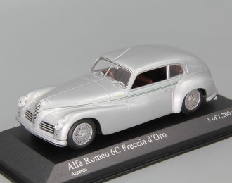 """ALFA ROMEO 6C 2500 """"Frescia d´Oro"""" (1947), silver"""