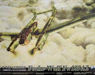 Сборная модель Немецкий разведчик Focke-Wulf Fw 189 A-2 Uhu