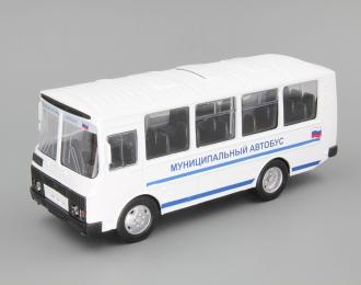 Павловский автобус 32053 муниципальный, белый