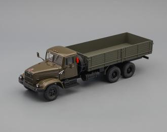 КРАЗ 257Б1 бортовой (1987-1994), оливковый