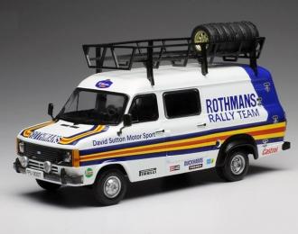 "FORD Transit MKII техничка ""Rothmans Rally Team"" David Sutton Motor 1980"