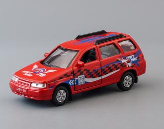 LADA 111 Спорт, red