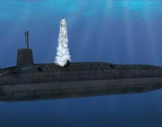 Сборная модель HMS 'Vanguard' S-28  SSBN Submarine