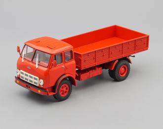 МАЗ 500А бортовой, красный