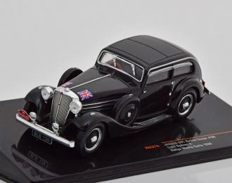 JAGUAR SS1 Airline Coupe #99 Sydney H.Light Rally Monte Carlo 1935