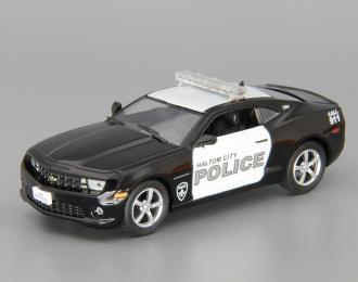 (Уценка!) CHEVROLET Camaro SS Haltom city USA, Полицейские Машины Мира 30, black / white
