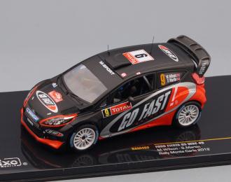 FORD FIESTA RS WRC 9 M.Wilson/S.Martin Rally Monte Carlo 2012, black