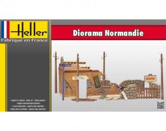 Сборная модель Диорама Руины Нормандии
