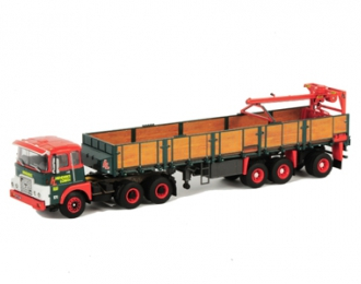 FTF F Serie Brick Trailer (3 axle) Hendriks Lobith, Premium Line 1:50, красный
