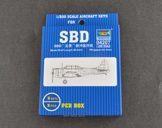 Сборная модель Американский самолет SBD