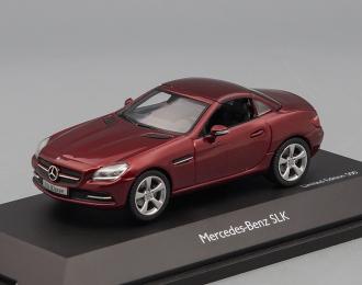 MERCEDES-BENZ SLK R172 (2011), red met
