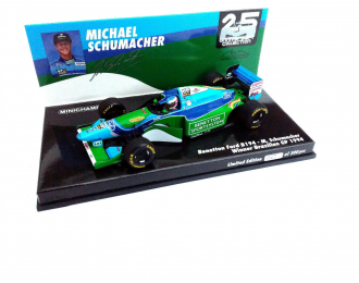 BENETTON FORD B194 - MICHAEL SCHUMACHER - WINNER BRAZILIAN GP 1994