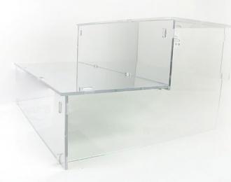 """Подставка под модели """"Лесенка"""", зеркальная 27см"""