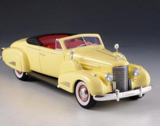 CADILLAC V16 Convertible Coupe (открытый) 1938 Yellow