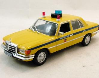 MERCEDES-BENZ 450 SEL (W116) милиция CCCP, Полицейские Машины Мира 22, желтый