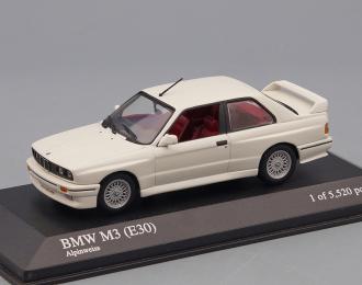 BMW M3 (E30) (1987), white