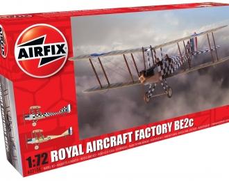 """Сборная модель Британский самолет Royal Aircraft Factory BE2c """"Scout"""""""