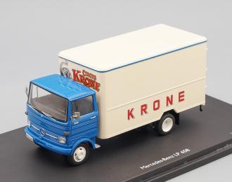 MERCEDES-BENZ LP608 фургон CIRCUS KRONE (1968), blue / beige