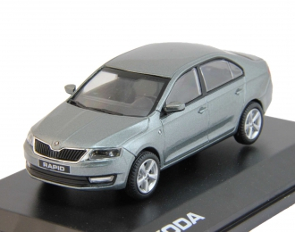 SKODA Rapid (2012), platin gray metallic