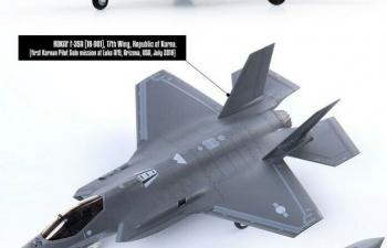 Сборная модель Самолёт F-35A 'seven nations Air Force'