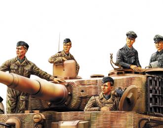 Сборная модель Германские танкисты (Нормандия 1944 г.)