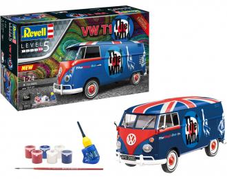 Сборная модель VOLKSWAGEN T1 The Who (подарочный набор)