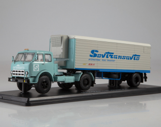 МАЗ-504А с полуприцепом Alka N12CH Sovtransavto