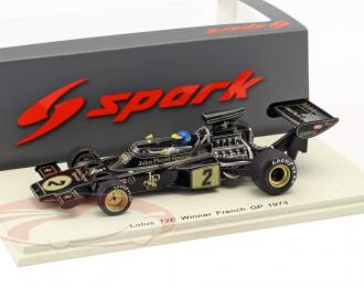 Lotus 72E #2 Winner French GP 1973 Ronnie Peterson