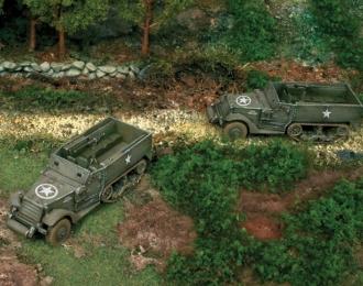Сборная модель Бронетранспортер M3 HALF TRACK