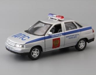 ВАЗ 2110 Лада Полиция, серебристый