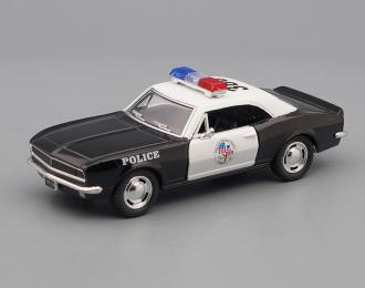 CHEVROLET Camaro Z-28 Police (1967), white / black
