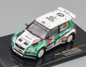 SKODA FABIA S2000 #39 E. Brynildsen D. Giraudet  GB Rally 2009 (Winner P-WRC)