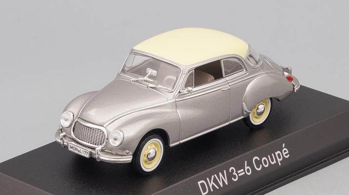 AUTO Union 3=6 Coupé 1955 Grey/White