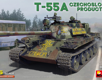 Сборная модель T-55a Czechoslovak Production