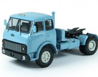 МАЗ 504В седельный тягач (1977-1982), голубой