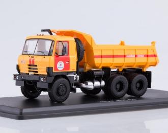 TATRA-815S1 самосвал Аварийная служба, красный-желтый