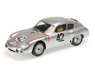 PORSCHE 356 B 1600 GS CARRERA GTL ABARTH - HERRMANN/LINGE - TARGA FLORIO 1962